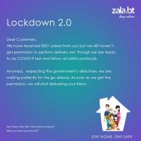 Lockdown Notice Update