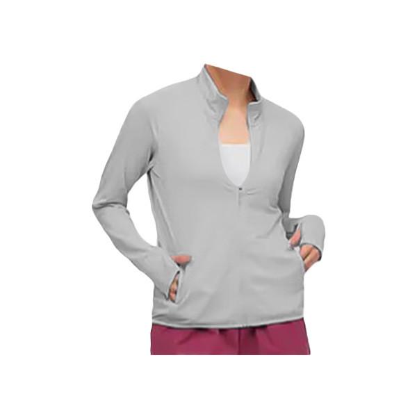 Uniqlo Airism UV protection Zipped Jacket(Women) - Light Grey