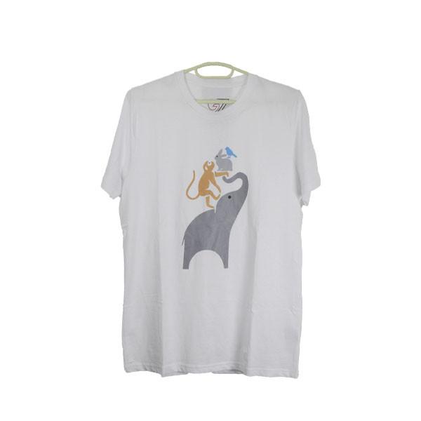 Unisex Theunpa Puen Zhi Printed T-Shirt
