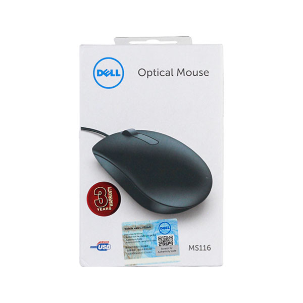 Dell Optical Mouse.