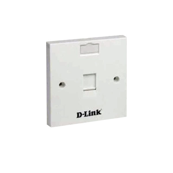 D-Link CAT6 IO, Face Plate, Wall Box Combo