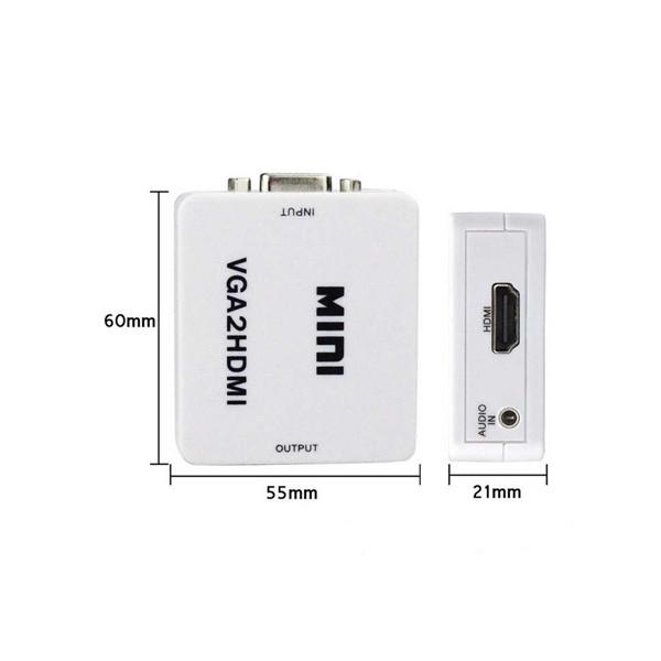 Mini VGA to HDMI Converter