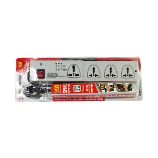 Mx 4 Outlet 1462 Universal Power Strip
