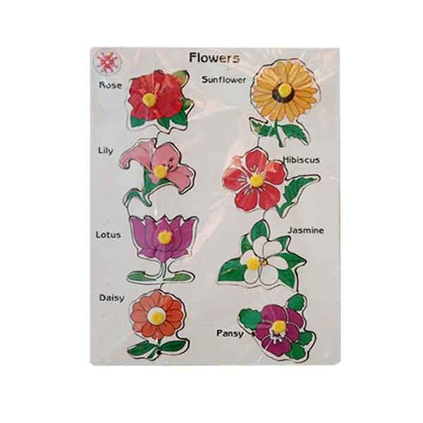 Flowers with Knob
