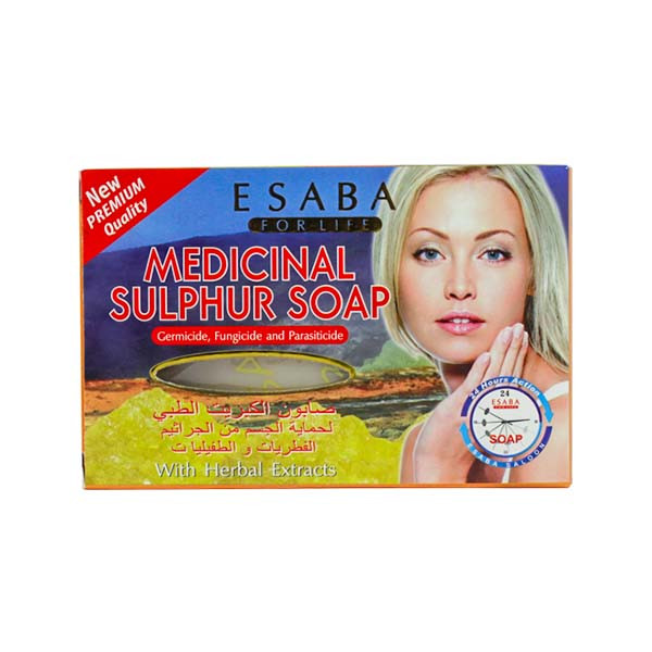 Esaba Medicinal Sulphur Soap, 135g