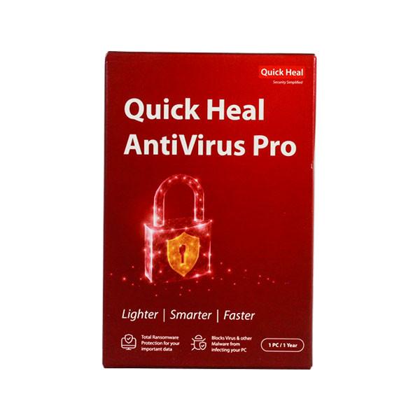Quick Heal Pro 1 user