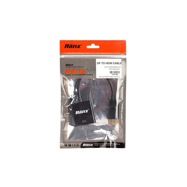 Ranz Cable And Converter Series (DP to HDMI)