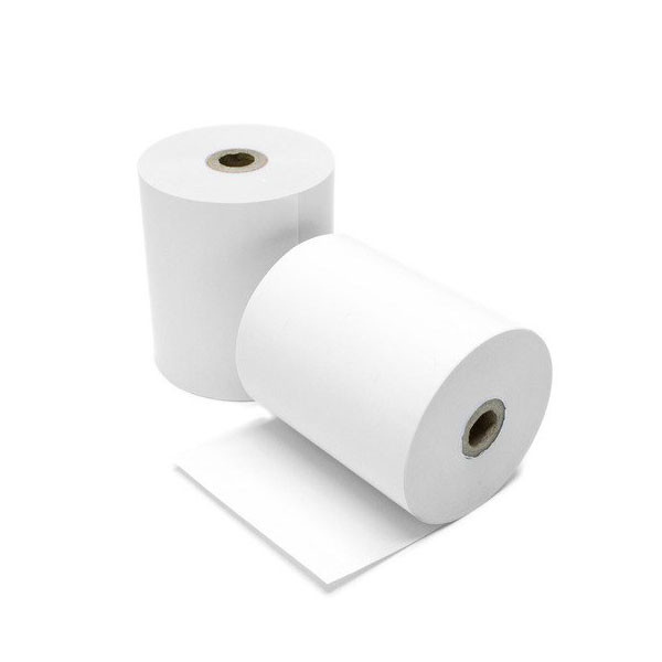 TVS Thermal Paper Roll (3inch, 40mtrs)