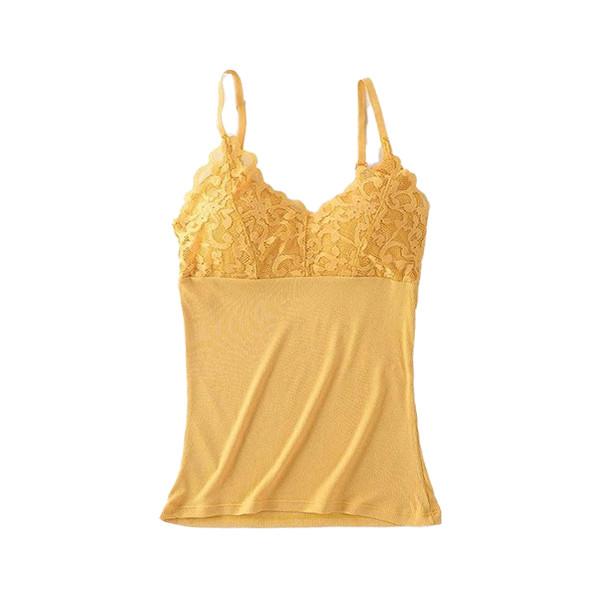 Lace Cotton Vest Top Lingerie