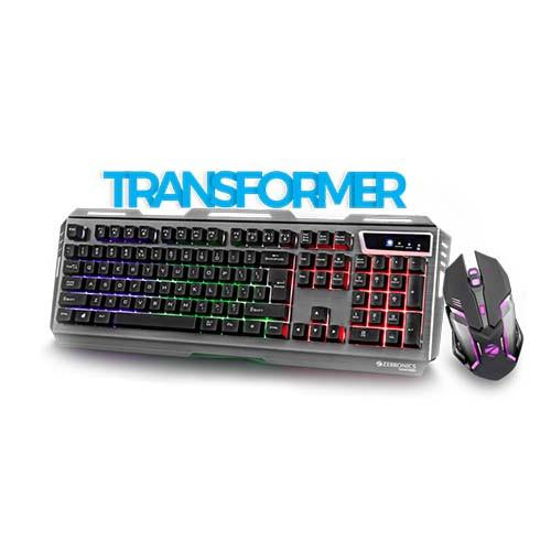 ZEBRONICS Gaming USB Keyboard & Mouse