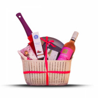 Mother's Day Pink Gift Basket